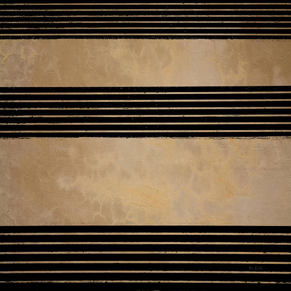 Abstract Print featuring the photograph Three Steps by Bob Orsillo