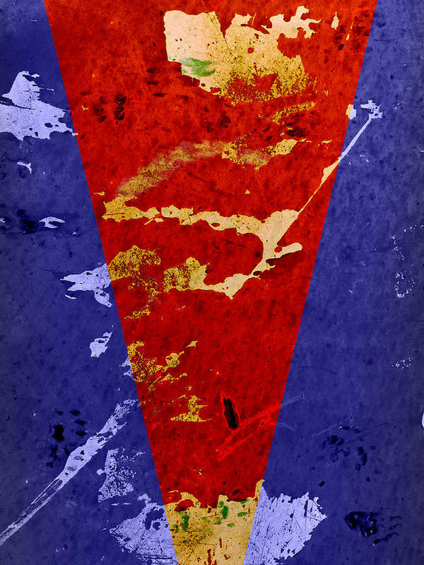 Superman Print featuring the photograph Time For A New Suit by Fran Riley