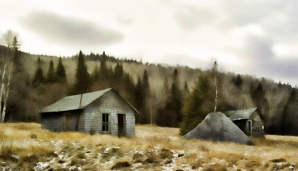 Country Print featuring the photograph Township Remnants by Richard Bean