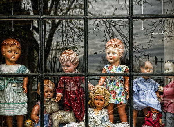 Dolls Print featuring the photograph Uncertainty by Joanna Madloch