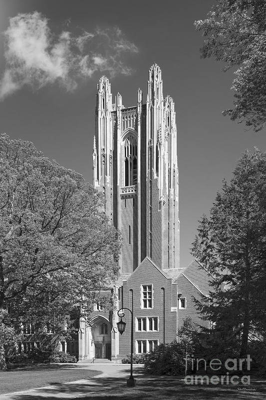 Green Hall Print featuring the photograph Wellesley College Green Hall by University Icons