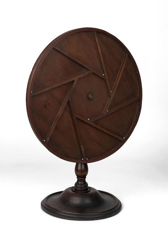 1800s Print featuring the photograph Young's Perpetual Motion Machine by Science Photo Library