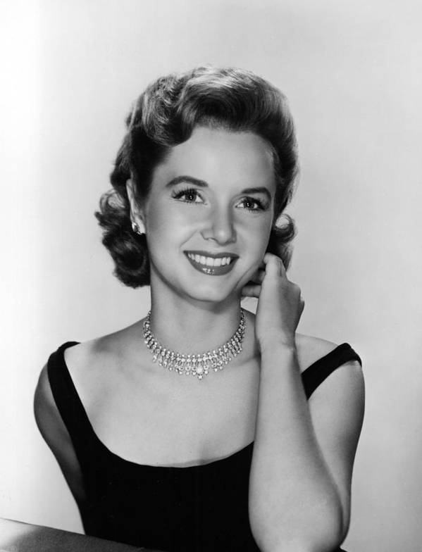 Necklace Print featuring the photograph Debbie Reynolds, 1956 by Everett