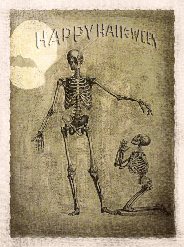 Ghost Print featuring the photograph Happy Halloween by Jeff Burgess
