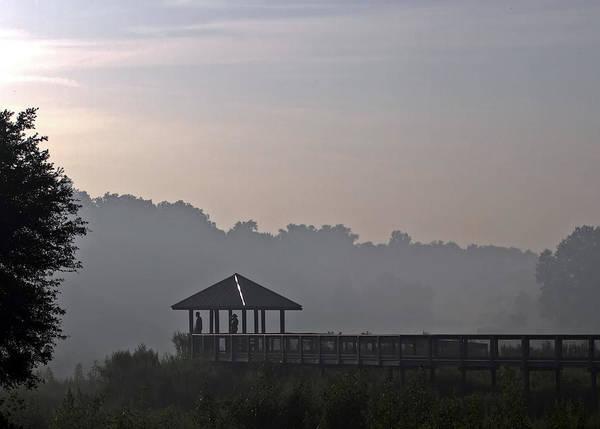 Fog Print featuring the photograph Morning Fog by Farol Tomson