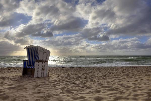 Beach Print featuring the photograph Sylt by Joana Kruse