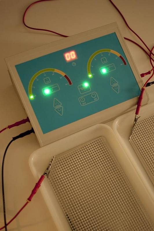 Technology Print featuring the photograph Iontophoresis Equipment by