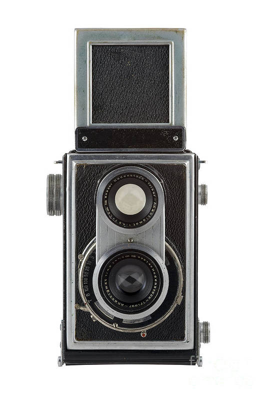 Camera Print featuring the photograph Old Camera by Michal Boubin