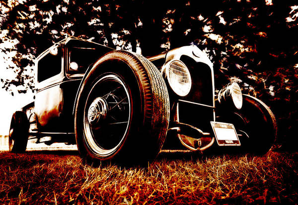 Hot Rod Print featuring the photograph 29 Ford Pickup by Phil 'motography' Clark