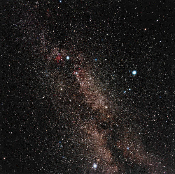 Milky Way Print featuring the photograph Milky Way by Eckhard Slawik