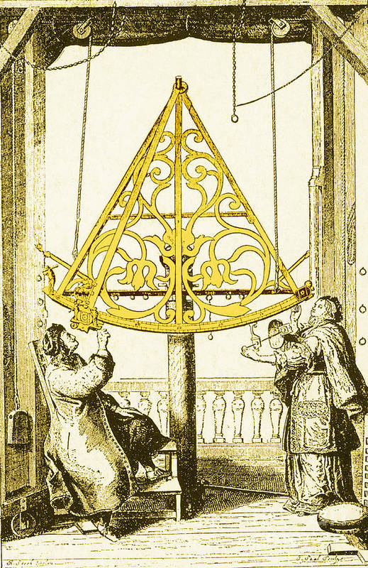 Science Print featuring the photograph Johannes Hevelius, Polish Astronomer by Science Source