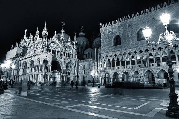 St. Mark Print featuring the photograph Venice by Joana Kruse