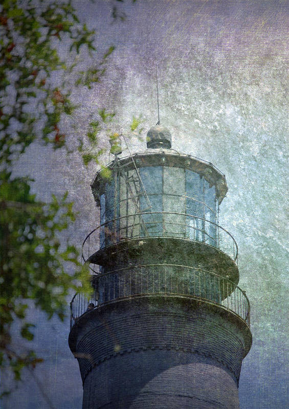Beacon Print featuring the photograph Beacon Of Hope by Judy Hall-Folde