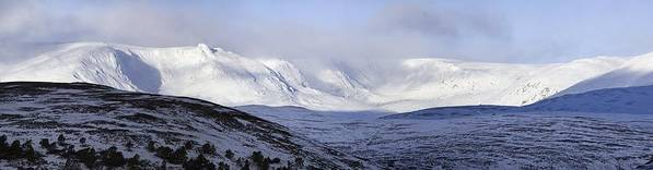 Cairngorms Print featuring the photograph Cairngorms Plateaux, Scotland by Duncan Shaw