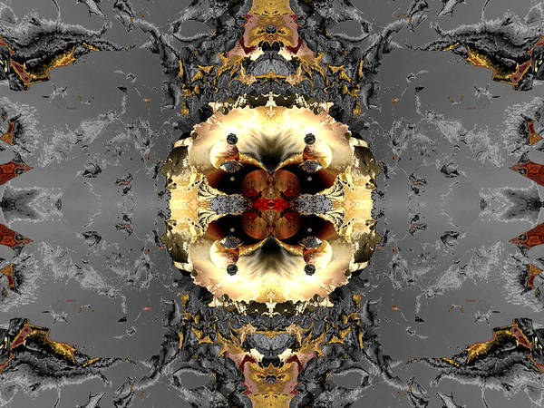 Digital Print featuring the digital art Central Planning by Claude McCoy