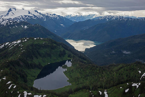 Frederick Sound Print featuring the photograph Coastal Range Tranquility by Mike Reid