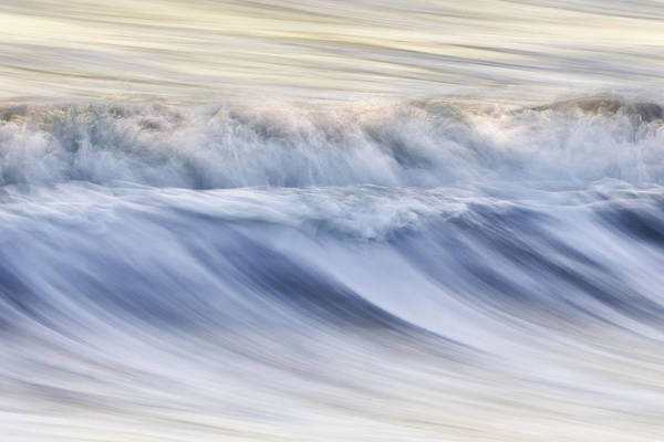 Color Print featuring the photograph Color Wave IIi by Rob Travis