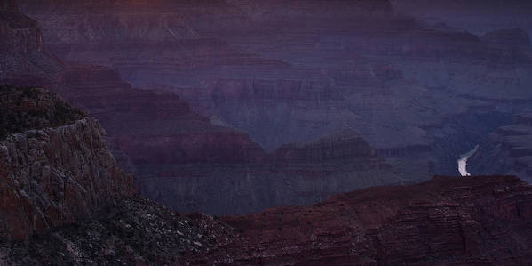 National Park Print featuring the photograph Colorado River At The Grand Canyon by Andrew Soundarajan