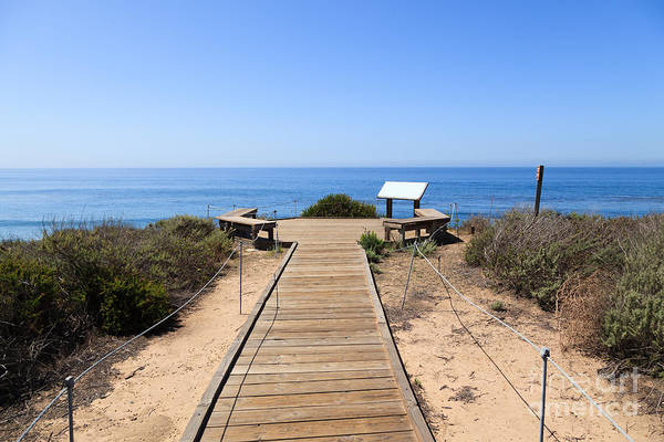 America Print featuring the photograph Crystal Cove State Park Ocean Overlook by Paul Velgos