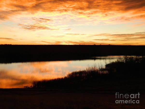 Colorado Print featuring the photograph Dixon Reservoir Sunrise by Sara Mayer