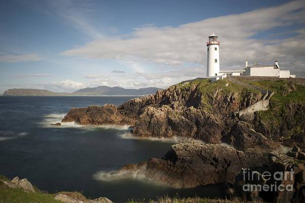 Irish Print featuring the photograph Donegal Lighthouse by Andrew Michael