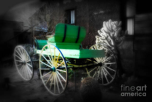 Ghost Rider Print featuring the photograph Ghost Rider by Susanne Van Hulst