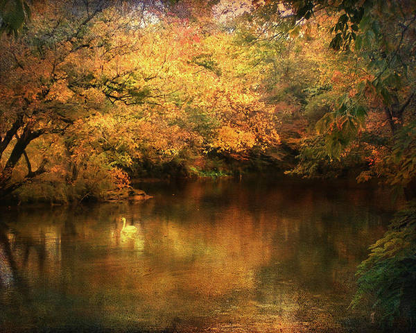 Autumn Print featuring the photograph Hint Of September by Jai Johnson