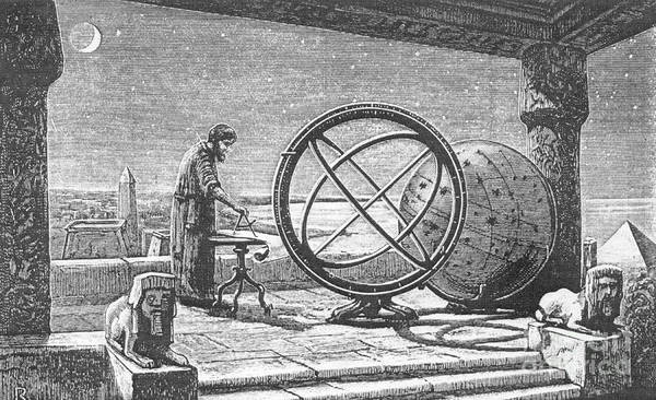 Science Print featuring the photograph Hipparchus, Greek Astronomer by Science Source