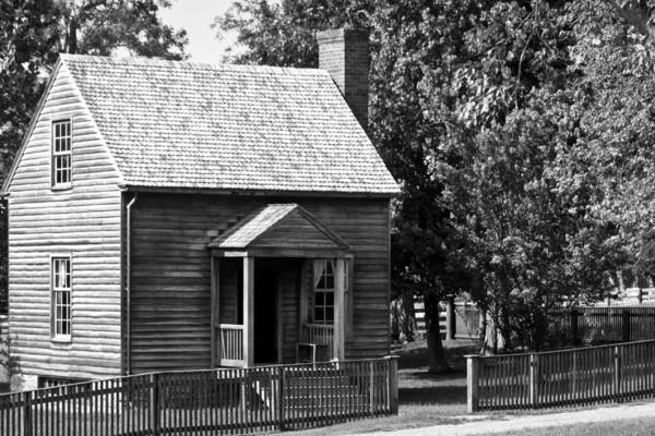 Appomattox Print featuring the photograph Jones Law Office Appomattox Virginia by Teresa Mucha