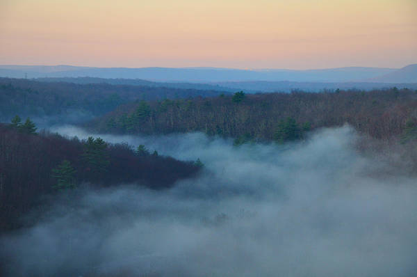 Misty Print featuring the photograph Misty Mountain Hop by Bill Cannon