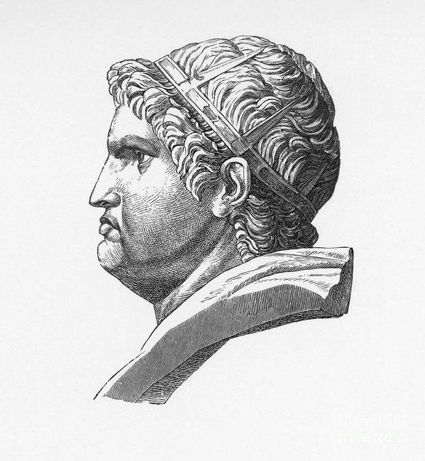 1st Century Print featuring the photograph Nero (37-68 A.d.) by Granger