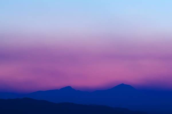 Sunset Print featuring the photograph Purple Haze by Kevin Bone