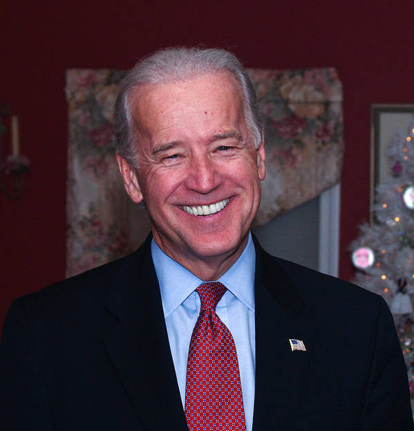 Nh Primary Elections Print featuring the photograph Smiling Joe by John Poltrack