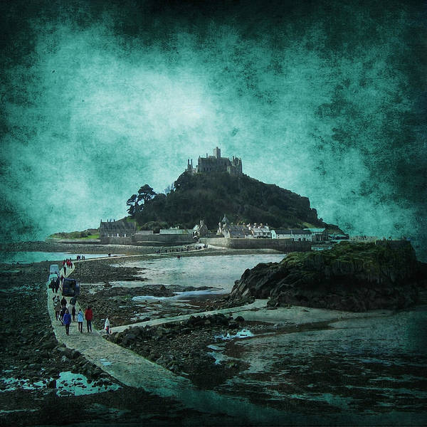 Abstract Print featuring the photograph St Michaels Mount by Svetlana Sewell