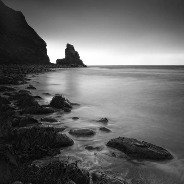 Scotland Print featuring the photograph Talisker Rock by Nina Papiorek