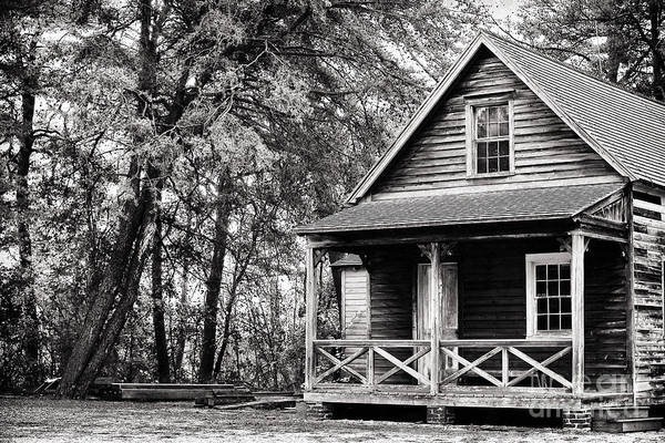 The Cabin Print featuring the photograph The Cabin by John Rizzuto
