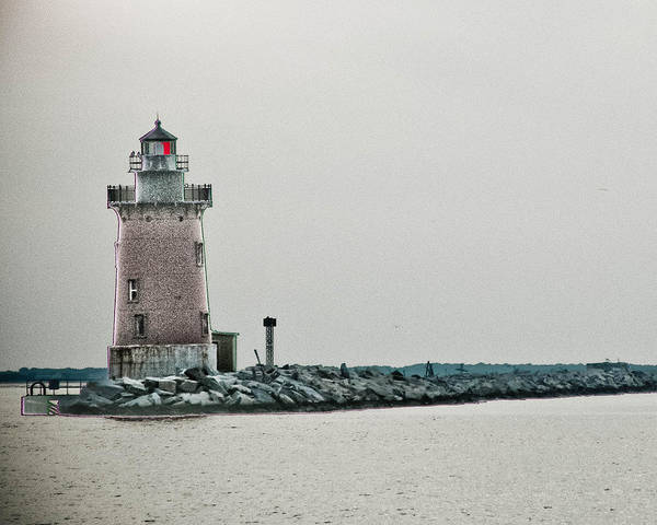 Lighthouse Print featuring the photograph The Phils Are Still My Team by Trish Tritz