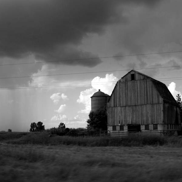 Barn Print featuring the photograph 08016 by Jeffrey Freund