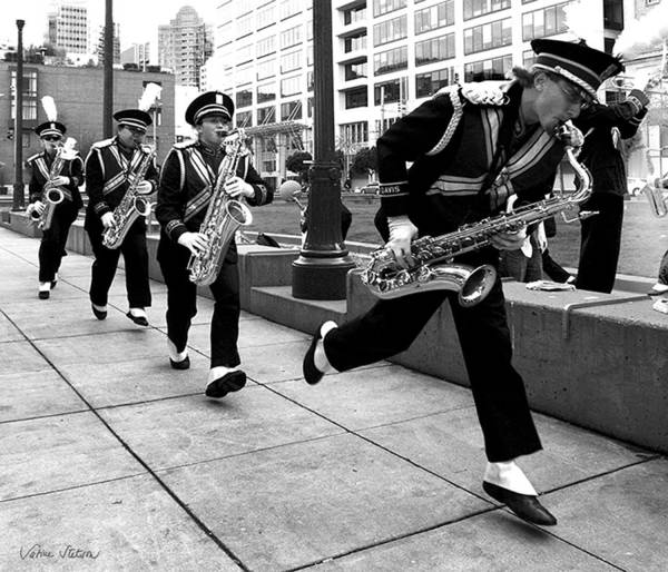 Marching Band Print featuring the photograph Tune Up by Sabine Stetson