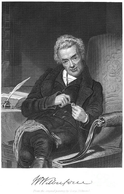 18th Century Print featuring the photograph William Wilberforce by Granger