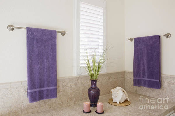 Apartment Print featuring the photograph Bathroom Space by Jeremy Woodhouse