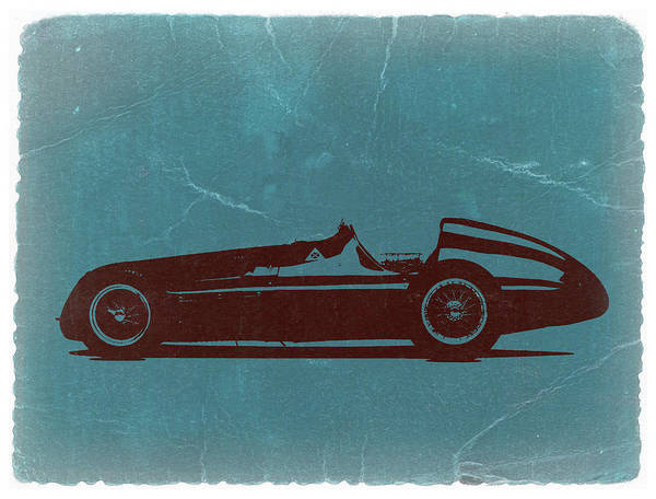 Print featuring the photograph Alfa Romeo Tipo 159 Gp by Naxart Studio