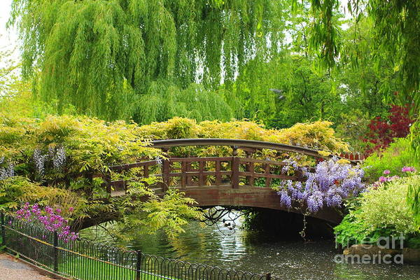 Beautiful Print featuring the photograph Beautiful Garden Art by Boon Mee