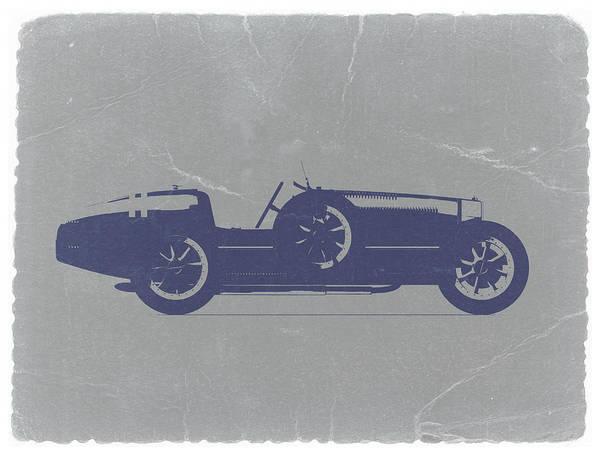 Bugatti Type 35 Print featuring the photograph Bugatti Type 35 by Naxart Studio