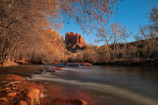 Cathedral Print featuring the photograph Cathedral Rock Sedona Arizona by Larry Marshall