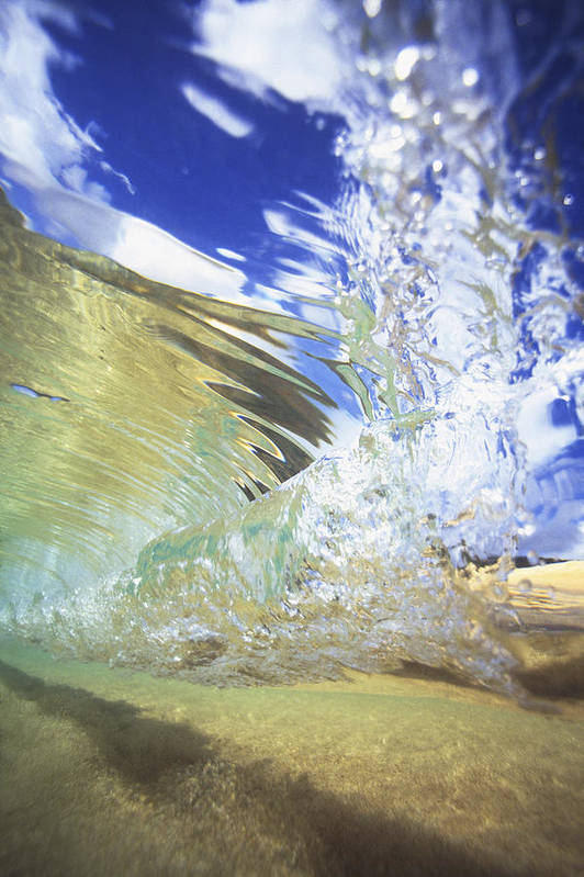 65-csm0310 Print featuring the photograph Clear Water by Vince Cavataio - Printscapes