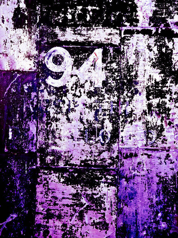 Abstract Print featuring the photograph Door 94 Perception by Bob Orsillo