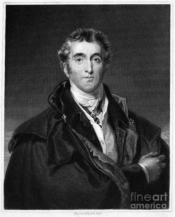 18th Century Print featuring the photograph Duke Of Wellington by Granger