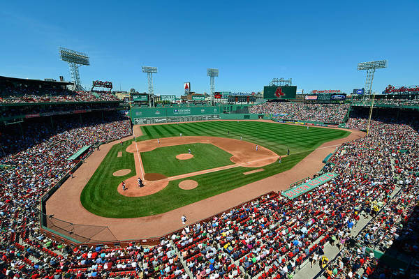 Mark Whitt Print featuring the photograph Fenway Park - Boston Red Sox by Mark Whitt