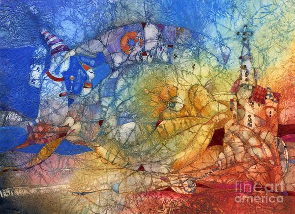 Fish Print featuring the mixed media Fish by Svetlana and Sabir Gadghievs